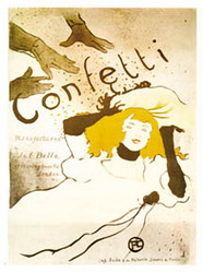 Category: Dropship Posters & Paintings, SKU #2043-22x28_AD, Title: Confetti
