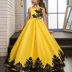 Category: Dropship Kids & Mom, SKU #SKU953710, Title: Vintage Girls Long Dress 6Y-15Y