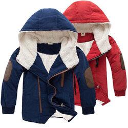 Category: Dropship Kids & Mom, SKU #SKUA51422, Title: Soft Fleece Boys Thick Coat For 4Y-15Y