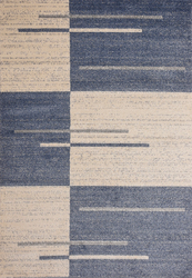 Category: Dropship Area Rugs, SKU #MNC-100-BEI-BLU-810, Title: Piano String Blue Beige Area Rug 8 ft. by 10 ft.