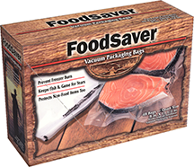 Category: Dropship Food Processing, SKU #20401KY, Title: Food Saver Game Saver Bags Quart 44 pk.