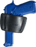 Category: Dropship Handgun Accessories, SKU #713037, Title: Allen Glenwood Belt Side Holster Black RH/LH Size 0