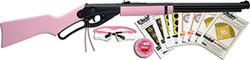 Category: Dropship Air Guns, SKU #73364, Title: Daisy Model 4998 Pink Fun Kit Lever Action Carine
