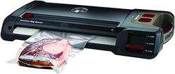 Category: Dropship Food Processing, SKU #80030, Title: Food Saver Game Saver Big Game Plus Vacuum Sealer Black/Red