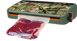 Category: Dropship Food Processing, SKU #80031KY, Title: Food Saver Game Saver Wingman Plus Vacuum Sealer Camouflage