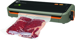 Category: Dropship Food Processing, SKU #80032, Title: Food Saver Game Saver Black/Red Outdoorsman Vacuum Sealer