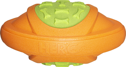 Category: Dropship Dog Toys, SKU #87467, Title: Hero Outer Armor Football Orange/Lime Large