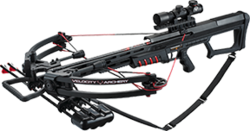 Category: Dropship Hunting, SKU #VXB400, Title: 15 Armageddon Crossbow 175# Package w/4x32 Scope