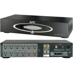 APC H10BLK 12-Outlet H-Type Rack-Mountable Power Conditioner wit