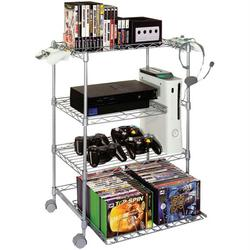 GAMEKEEPER 45506019 4-Tier Wire Gaming Tower