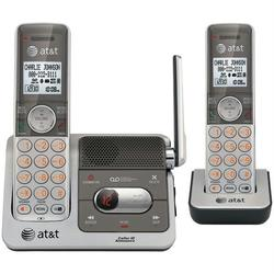 ATT ATTCL82201 DECT 6.0 Cordless Phone System with 2 Handsets, T