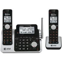 ATT ATTCL83201 DECT 6.0 Cordless Phone System with 2 Handsets &