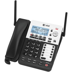 Category: Dropship Telecommunication, SKU #ATTSB67138, Title: AT&T ATTSB67138 SynJ 4-Line Expandable Business Phone System