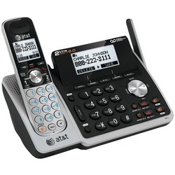 ATT ATTL88102 DECT 6.0 Expandable 2-Line Speakerphone with Calle