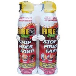 FIRE GONE 2-FG-7209 Fire Suppressants with Bracket, 2 pk