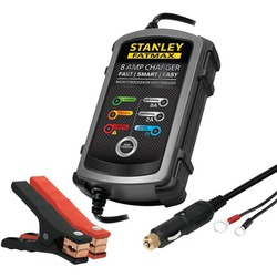 STANLEY BC8S 8-Amp FatMax(R) Battery Charger & Maintainer