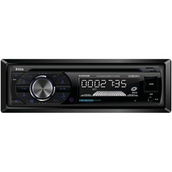BOSS AUDIO 508UAB Single-DIN In-Dash CD AM/FM/MP3 Receiver (with