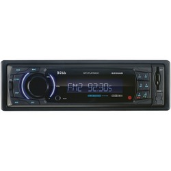 BOSS AUDIO 625UAB Single-DIN In-Dash Mechless AM/FM Receiver wit