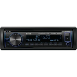 BOSS AUDIO 750BRGB Single-DIN In-Dash CD AM/FM/MP3 Receiver with