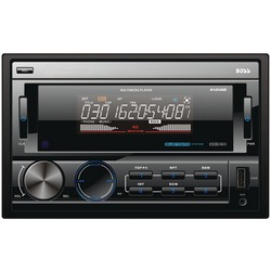 BOSS AUDIO 812UAB Double-DIN In-Dash Mechless AM/FM Receiver wit