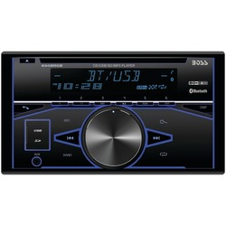 BOSS AUDIO 850BRGB Double-DIN In-Dash CD AM/FM/MP3 Receiver with