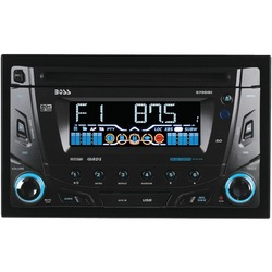BOSS AUDIO 870DBI Double-DIN In-Dash CD AM/FM Receiver with Blue