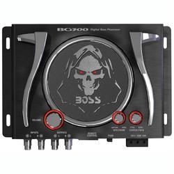 BOSS AUDIO BG300 Bass Generator with Illuminated Logo & Controls