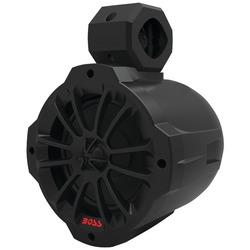 BOSS AUDIO BM650AMPBT 2-Way Amplified Marine Wake Tower Speaker