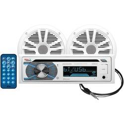 BOSS AUDIO MCK508WB.6 Marine Single-DIN In-Dash MP3-Compatible C