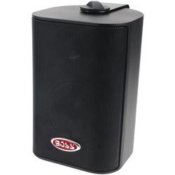 """BOSS AUDIO MR4.3B 4"""" Indoor/Outdoor 3-Way Speakers (Black)"""