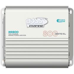 BOSS AUDIO MR800 MOSFET Bridgeable Marine Class AB Amp (2 Channe