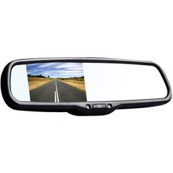 """BOYO VTM35M 3.5"""" LCD Rearview Color Mirror Monitor"""