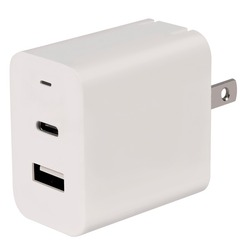 Category: Dropship Chargers, SKU #CETPDCU18, Title: AT&T PDCU18 18-Watt USB and Type-C Power Adapter