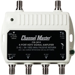 CHANNEL MASTER CM-3414 Ultra Mini Distribution Amp (4 Port)