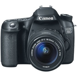 CANON 8469B016 20.2-Megapixel EOS 70D Digital SLR Camera (with 1