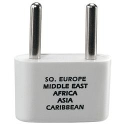 CONAIR NW1C Adapter Plug for Europe, Middle East, Parts of Afric