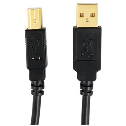 AXIS 12-0081 A-Male to B-Male USB 2.0 Cable (10ft)