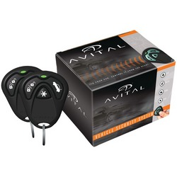 AVITAL 3100LX 3100LX 1-Way Security System without Siren