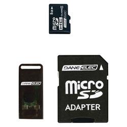 DANE-ELEC DA-3IN1-08G-R microSD(TM) Card (8GB)