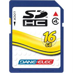 DANE-ELEC DA-SD-16GB-R SD(TM) Card (16GB)