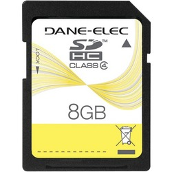 DANE-ELEC DA-SD-8192-R SD(TM) Card (8GB)
