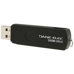 DANE-ELEC DA-U332GSP-R SuperSpeed USB 3.0 Sport Flash Drive (32G