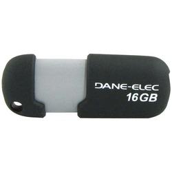 DANE-ELEC DA-ZMP-16G-CA-G2-R Capless USB Pen Drive (16GB; Gray)