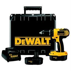 "DEWALT DC720KA 18-Volt 1/2"" Compact Drill/Driver Kit"