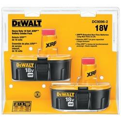 DEWALT DC9096-2 18-Volt XRP(TM) Batteries, 2 pk