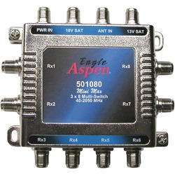 EAGLE ASPEN 501080 3-In x 8-Out Multiswitch with Optional Power
