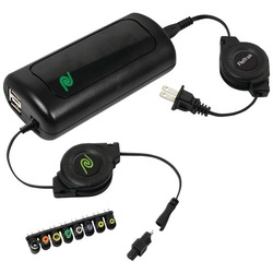 RETRAK ETCHGNBW90 Retractable 90-Watt Universal Notebook Charger
