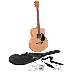 EMEDIA MUSIC EG07108 Teach Yourself Acoustic Guitar Pack, Steel-