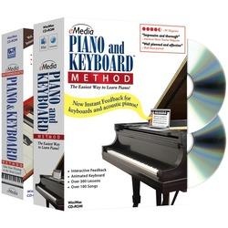 EMEDIA EK02131 Piano & Keyboard Method Deluxe 2-Volume Bundle
