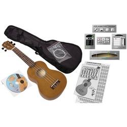 EMEDIA MUSIC EU08154 Ukulele Beginner Pack for Adults